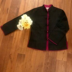 Sam Hilu Jackets & Coats - 100% Silk Sam Hilu Jacket